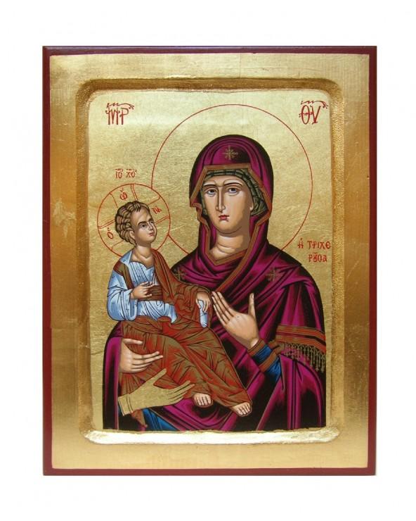 Icona serigrafata Madre di...