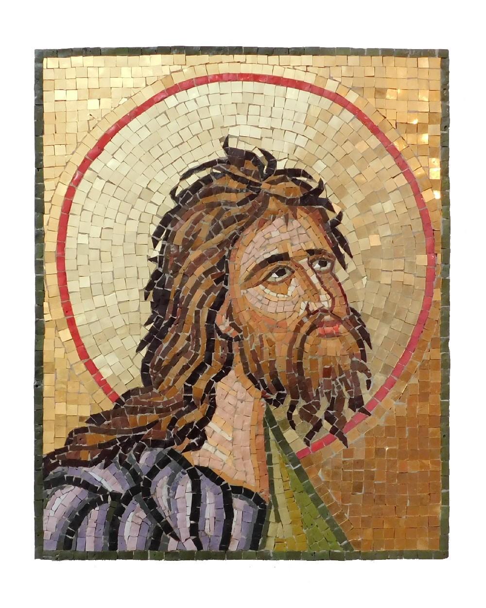 San Giovanni Battista mosaico