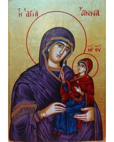 Icona di S.Anna con Maria