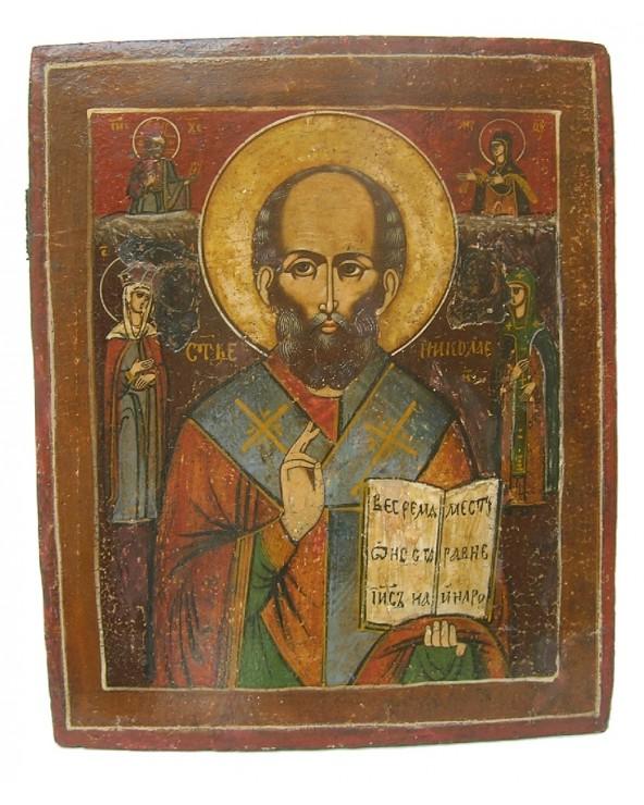 Icona russa antica di San...