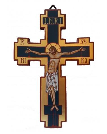 Crocifisso di Cimabue dipinto a mano