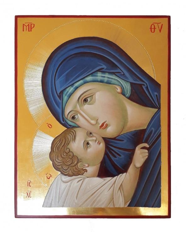 Icona dipinta Madre di Dio della Tenerezza