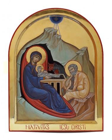 Icona dipinta Natività di Gesù