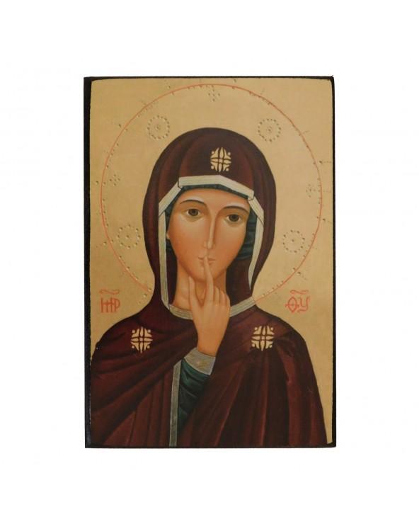 Icona della Madonna del Silenzio