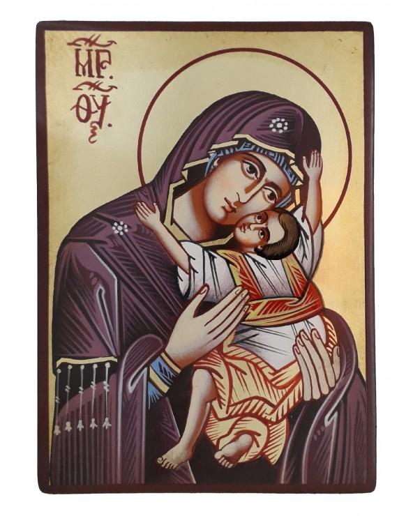 Icona sacra Madre di Dio della Tenerezza Kardiotissa
