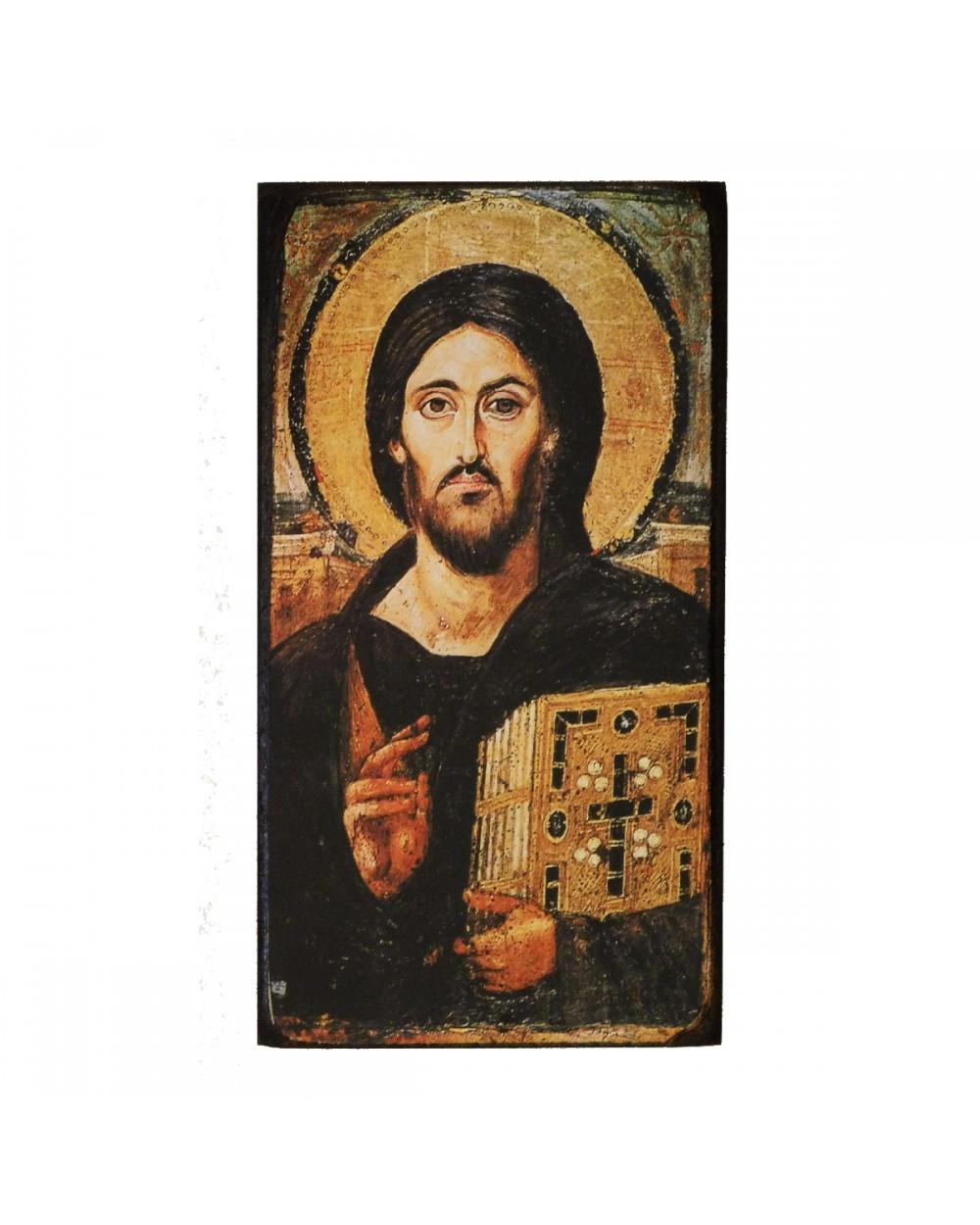 Icona sacra Cristo del Sinai