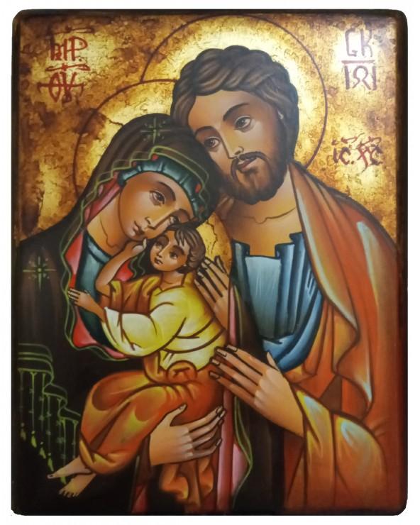 Sacra Famiglia antichizzata