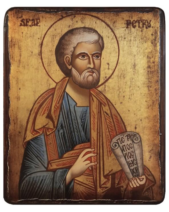 San Pietro icona dipinta
