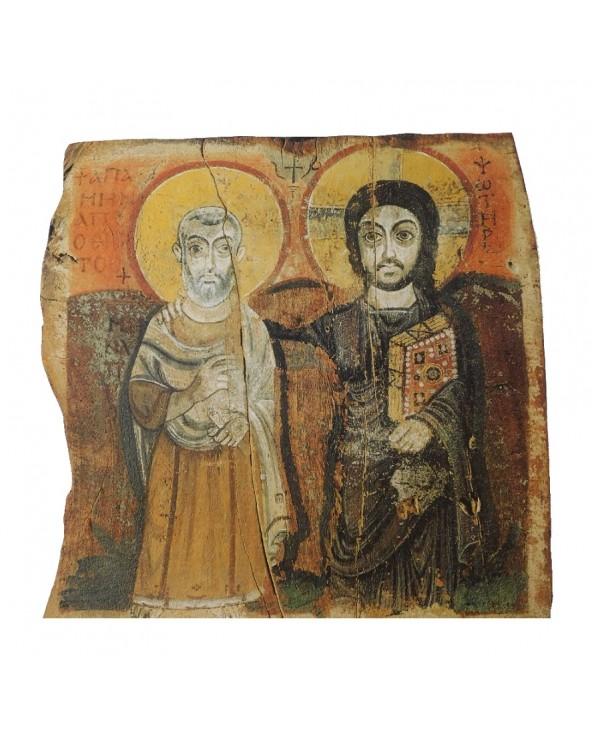Icona Cristo che protegge...