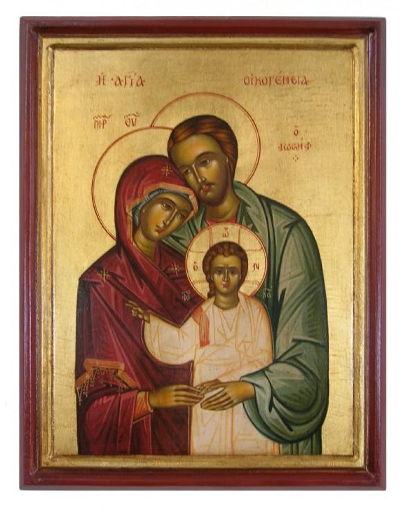 Icona greca della Sacra...