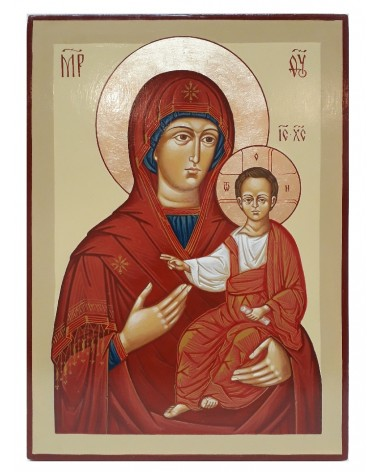 Icona sacra madre di dio Hodigitria