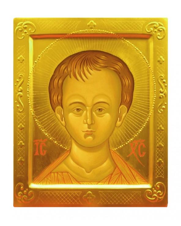 Icona sacra Cristo...